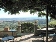 Pension Bencista: a room with a view